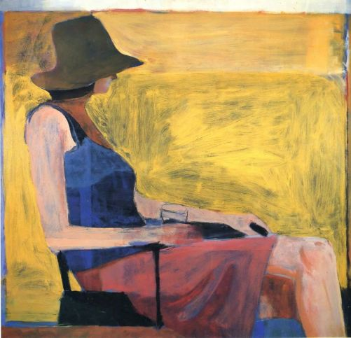 Diebenkorn_Seated_Figure_With_Hat